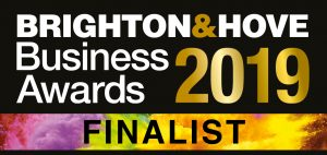 Brighton & Hove Business Awards 2019 finalist