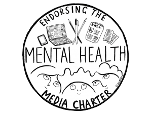Mental Health Media Charter badge